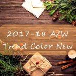 2017-2018秋冬トレンドカラー最新情報!おすすめカラーは?