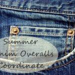 夏デニムサロペットコーデ!おしゃれを楽しむ着こなしアイデア