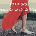 2018春夏トレンドサンダル&靴/シューズ!人気のバブーシュやメタリックデザインが勢揃い!